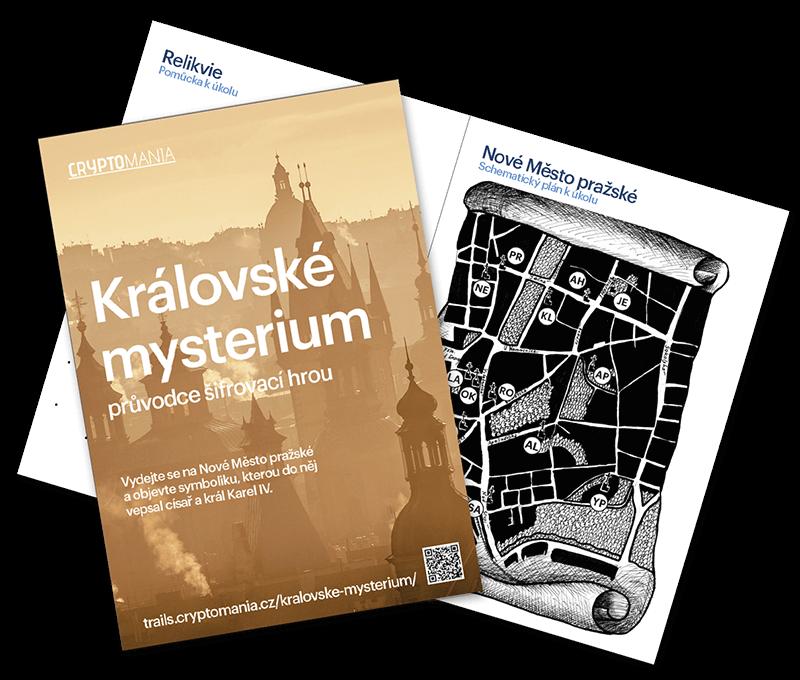 Královské mysterium Středně těžká hra v Praze