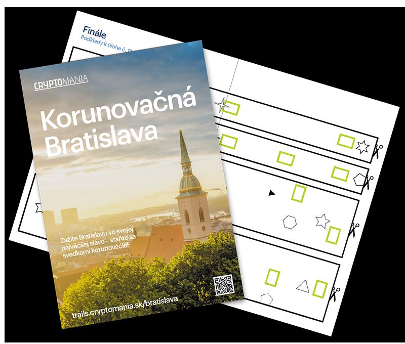 Korunovační Bratislava Středně těžká hra v Bratislavě