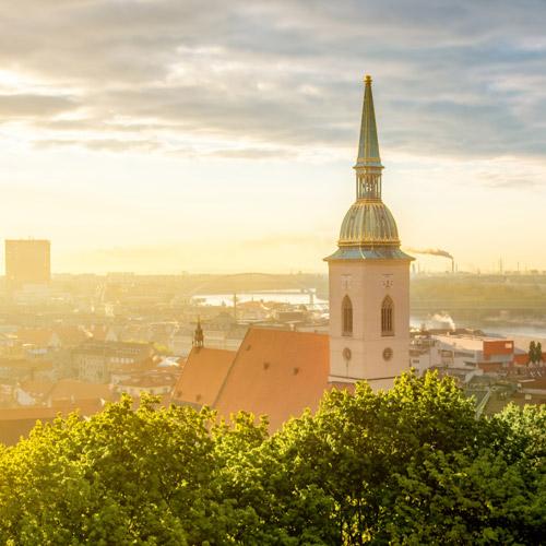 Korunovační Bratislava