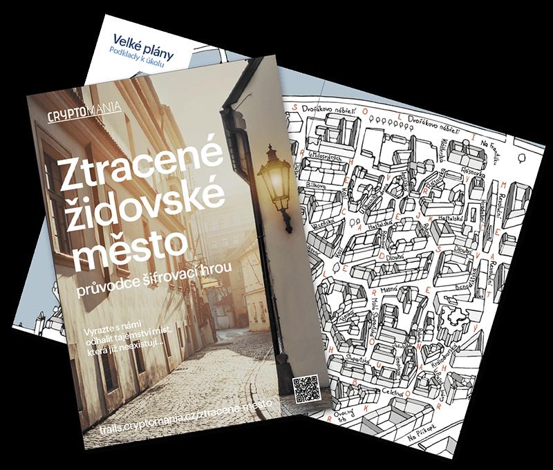 Ztracené židovské město Středně těžká hra v Praze