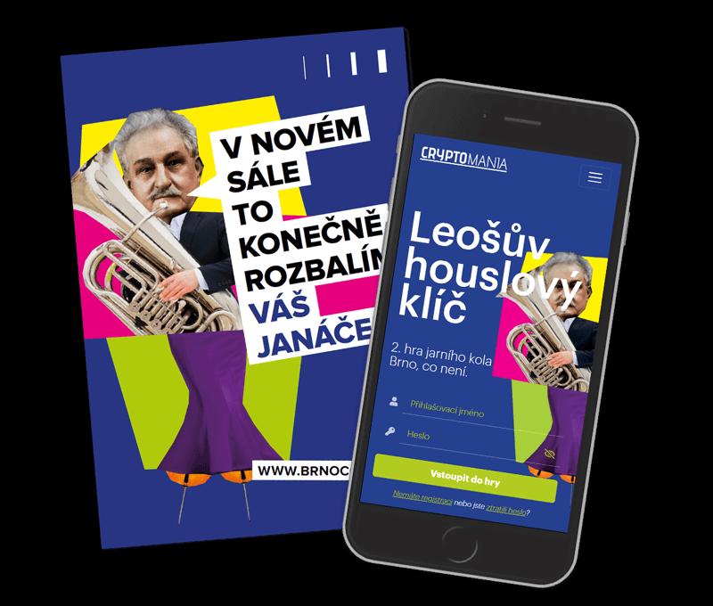 Leošův houslový klíčLehká hra v Brně