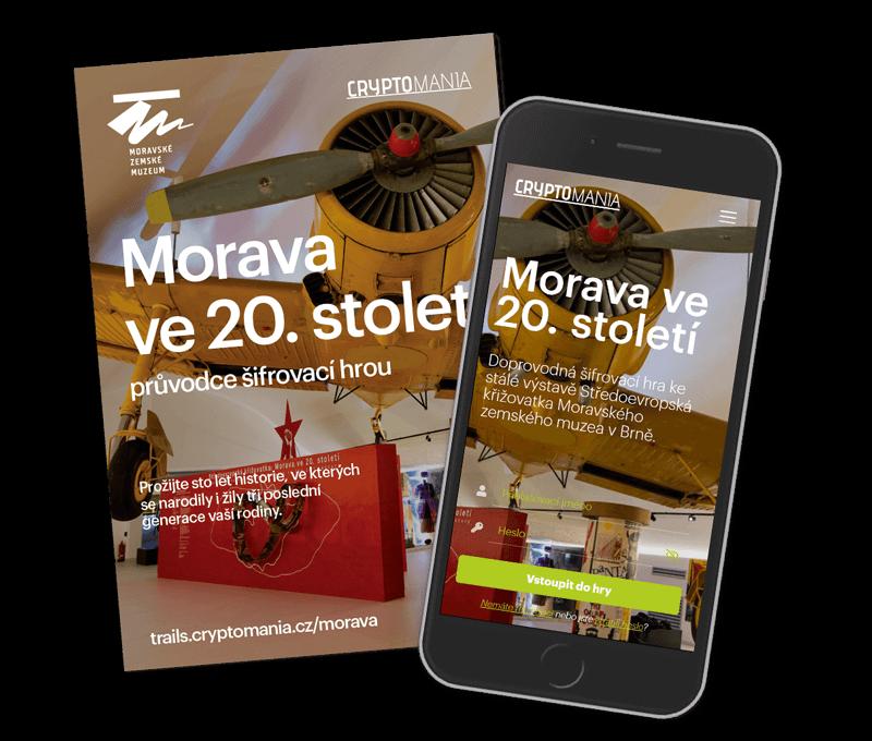 Středoevropská křižovatka: <br/>Morava ve 20. stoletíStředně těžká hra v Brně
