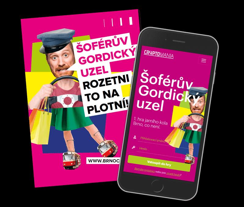 Šoférův gordický uzelLehká hra v Brně