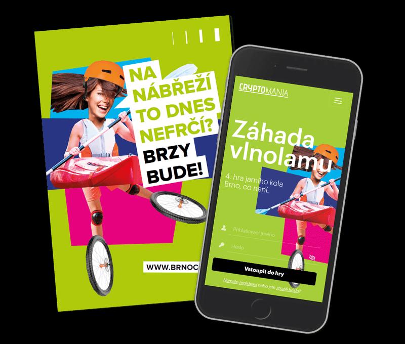 Záhada vlnolamuLehká hra v Brně