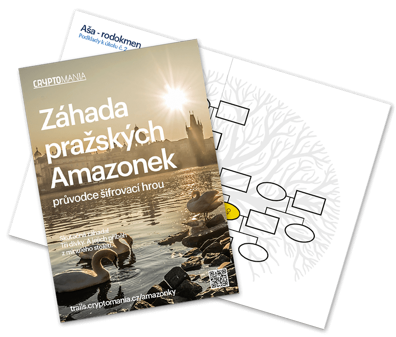 Záhada pražských Amazonek Velmi lehká hra na doma