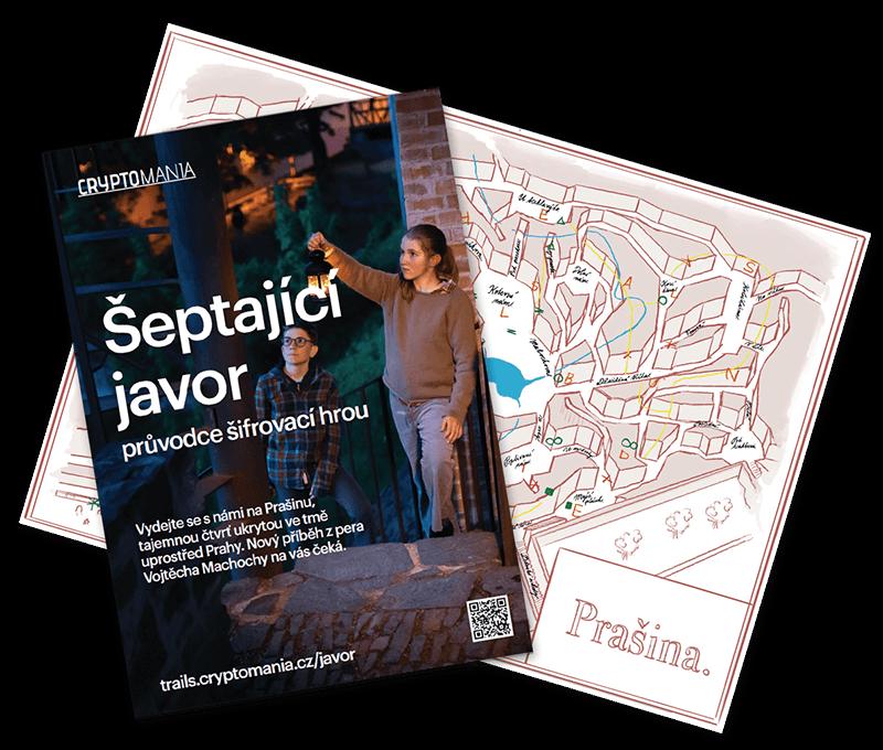 Šeptající javor Rodinná hra v Praze