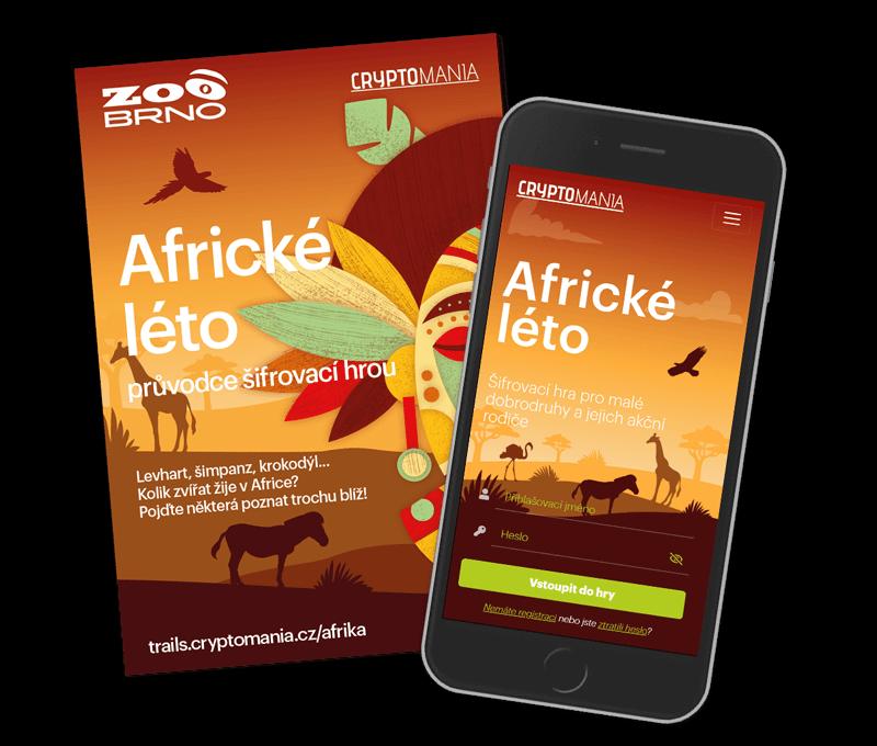 Africké léto Rodinná hra v Brně